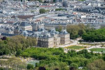 Le Jardin Du Luxembourg Vu De La Tour Montparnasse