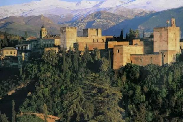 LAlhambra en Espagne