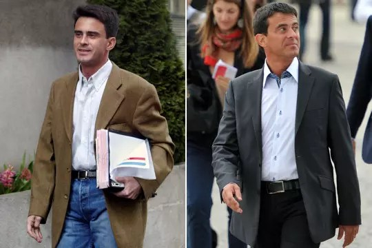 Manuel Valls fashion victim