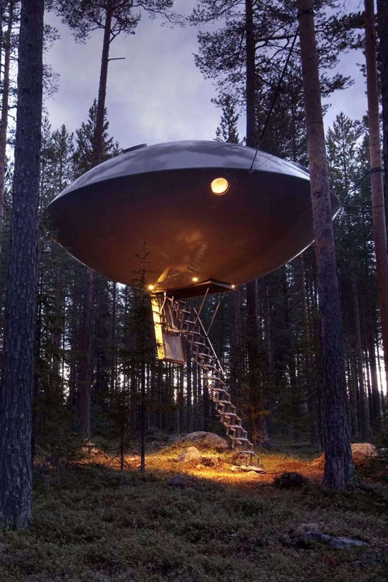 La maison Soucoupe volante