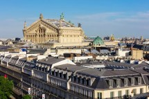 L'opra Vu Des Galeries Lafayette