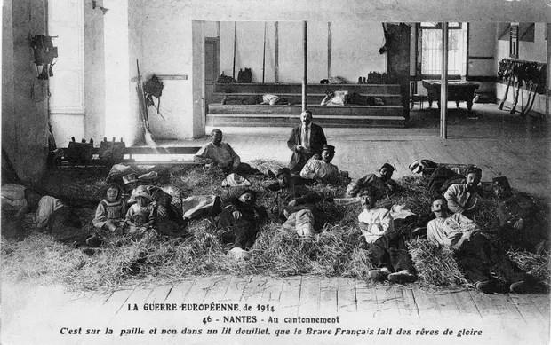 Dans le quotidien des soldats de la Grande Guerre