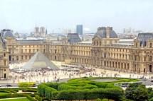 Le Louvre En Haut De La Grande Roue Paris