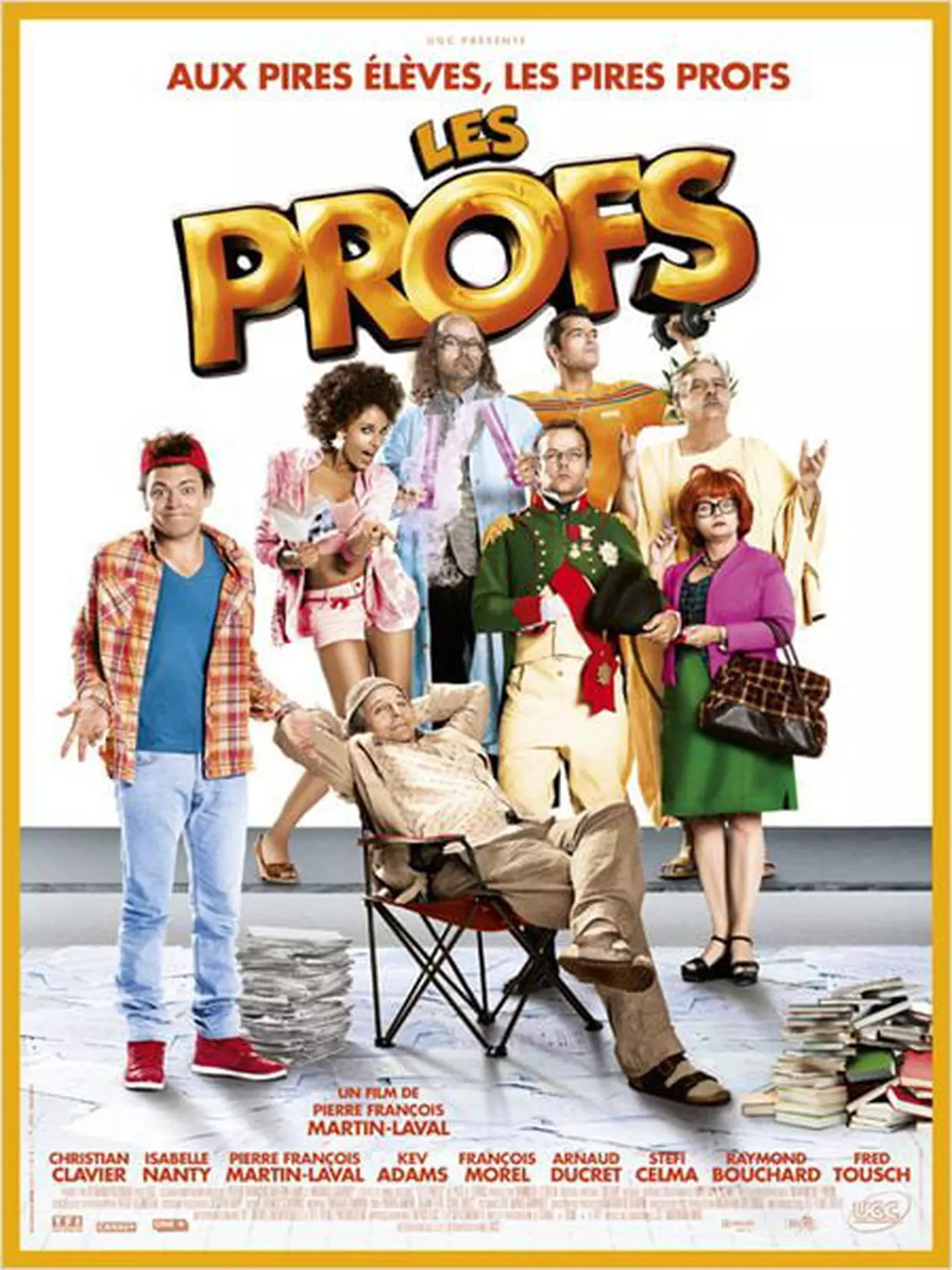 Les Prof 1 Streaming : streaming, Profs, Bande, Annonce, Film,, Séances,, Streaming,, Sortie,