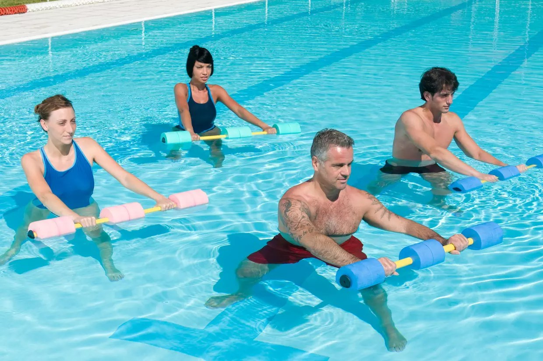 Aquagym  les exercices de base