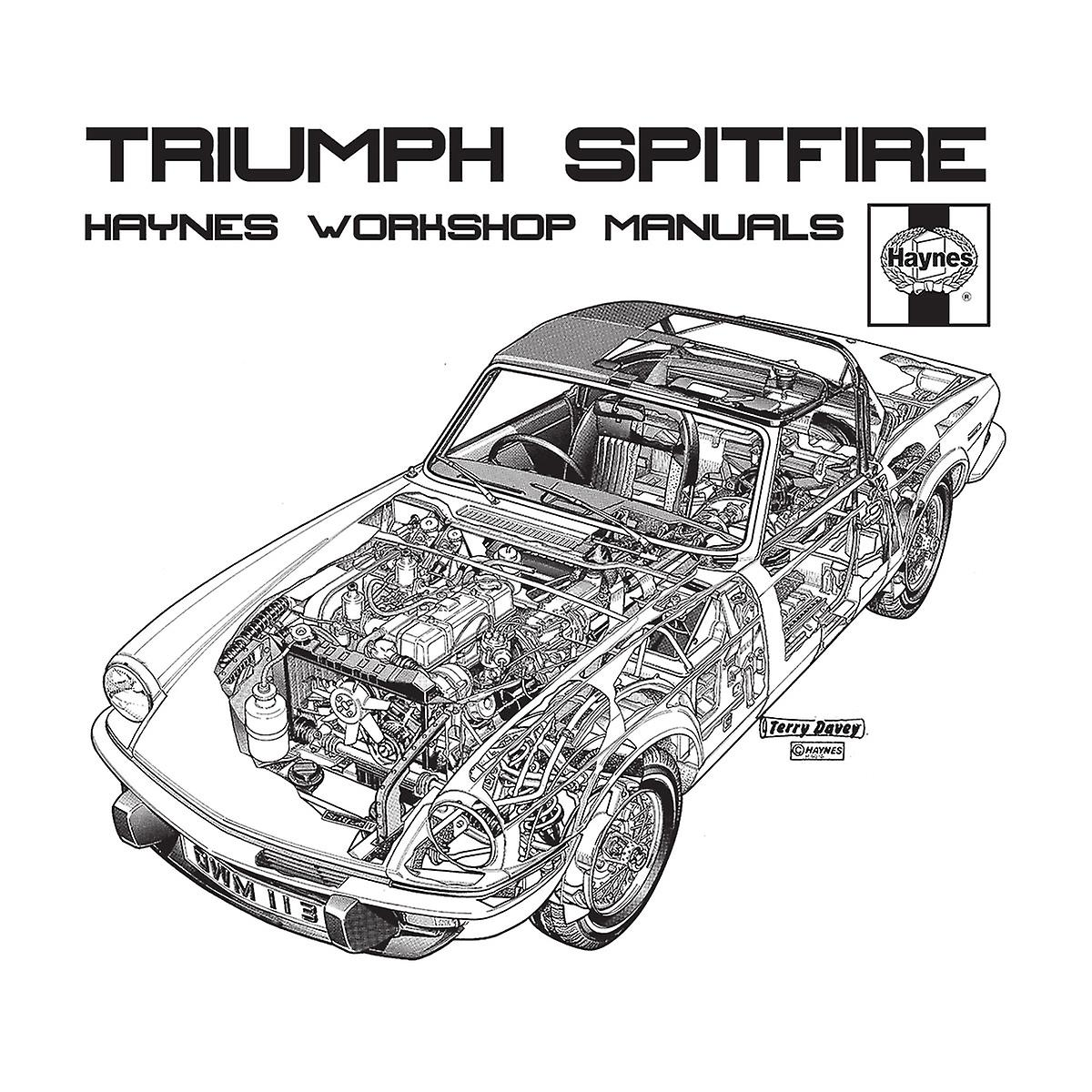 Haynes Owners Workshop Manual 0113 Triumph Spitfire Black