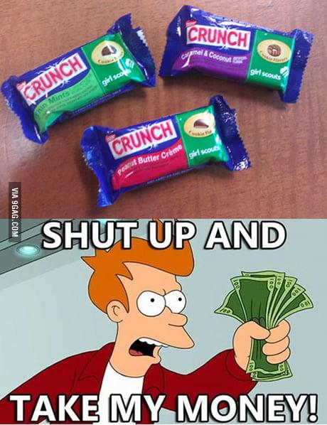 Nestle Crunch Meme : nestle, crunch, Nestle, Crunch, Scout, Cookie