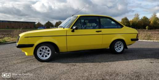 Ford Escort RS2000 (more info in the comments)