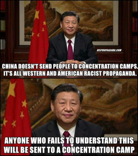China is kind, courageous and loving to the people