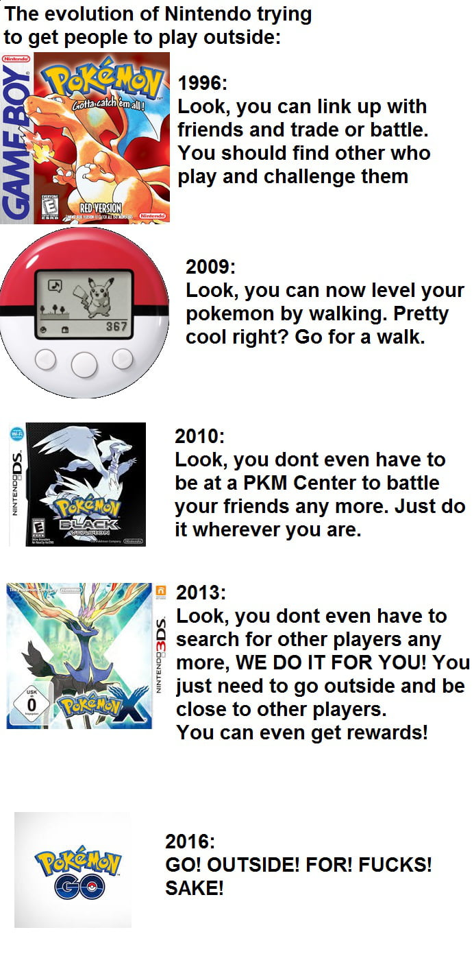 Good Guy Nintendo. Trying to get people to play outside since 1996