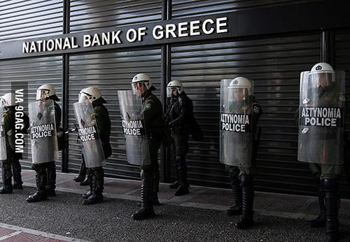 Greece, right now.