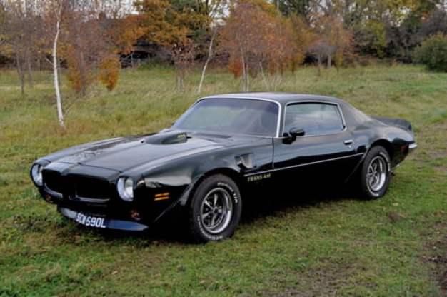Stunning Black 1973 Pontiac Trans Am