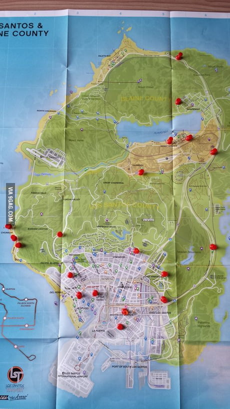 Gta V Store Locations : store, locations, Money, Here's, Locations, Convenience, Stores