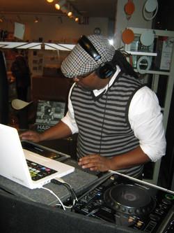Jamie as DJ