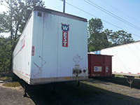 53 foot trailer donation from West Motor Freight photo 1
