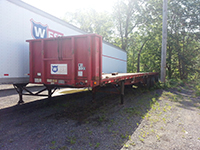 Flatbed donation from West Motor Freight 2