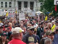 crowd closeup