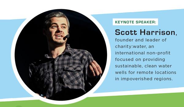 Image of Keynote speaker Scott Harrison