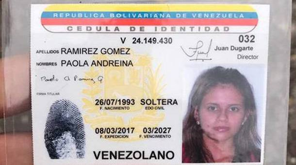 Paola Andreina Ramirez