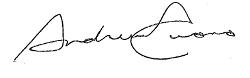 Andrew M. Cuomo Signature