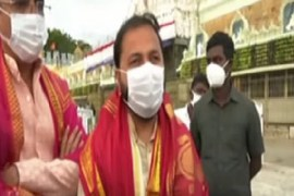 22nd generation descendant of the Kakatiya dynasty Kamal Chandra Bhanj Dev visits tirumala