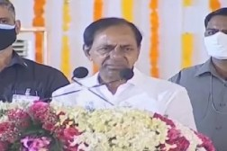 KCR and KTR hold review meetings on rains