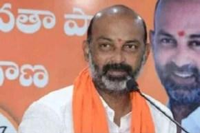 will introduce population control legislation says bandi sanjay