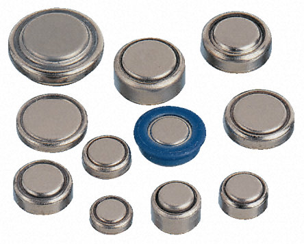 Silver oxide batteries are also known as button batteries.