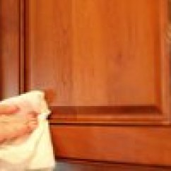 Remove Grease Buildup From Kitchen Cabinets Tall Cabinet How To Years Of Greasy Build-up ...