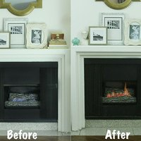Gas Fireplace Crackle Embers