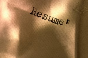 How to Write Resumes for College Admissions Boards | Synonym