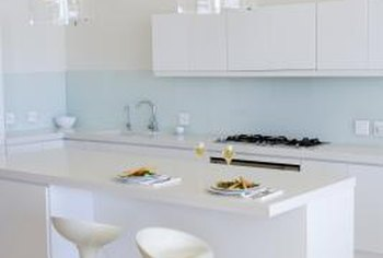 pictures of laminate kitchen countertops rustic painted cabinets different styles home guides sf gate generate a fresh modern look for your with white counters