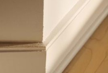 chair rail corners without coping unfinished kitchen chairs oak can i cut baseboard a miter saw home guides sf gate adds an architectural element to room that makes the look more expensive