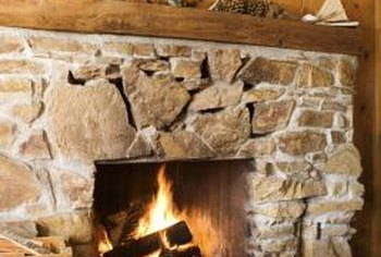 How to Add Faux Stone to a Fireplace  Home Guides  SF Gate