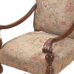 Country Style Wingback Chairs Chair Cover Rental Maryland How To Identify Upholstered Vintage & Antique | Home Guides Sf Gate