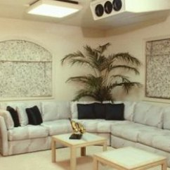 Living Room Arrangements With Sectionals Wall Decors For How To Arrange An L Shaped Sectional Sofa In A Small Home Corner Placement Leaves Open Floor Space