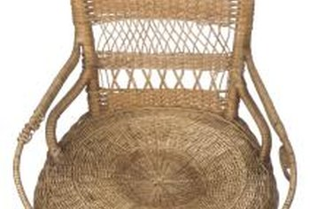 repair rattan chair seat ford flex with captains chairs how to wicker home guides sf gate replacement fibers are available for all kinds of repairs