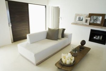 how to make living room indian false ceiling designs for rearrange furniture a look bigger home lots of light and monochromatic color scheme visually enlarge space