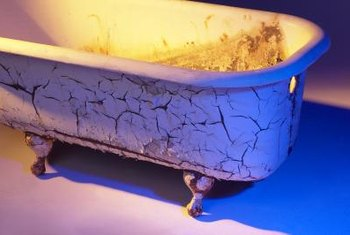 How To Fix A Crack In A Cast Iron Bathtub Home Guides SF Gate