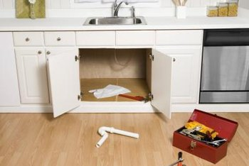 kitchen sink plug hole fitting cabinets seattle how to close off the drain if removing a dishwasher ...