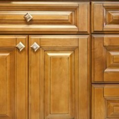 Cleaning Kitchen Cabinets Cost To Paint Professionally How Do I Clean And Wax Old Home Guides Sf Gate You Can Around Knobs Or Remove Them A Thorough
