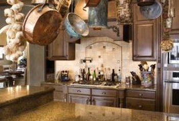 tuscan style kitchen utensil holder ideas how to design a home guides sf gate decorate with old world visual appeal