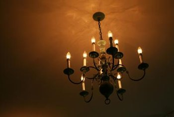You Can Rewire Any Chandelier To A Plug In