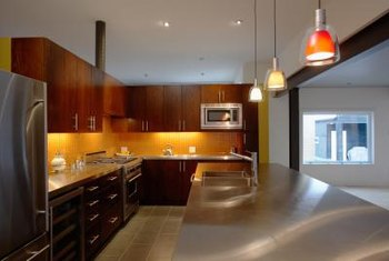 Recommendations For Pendent Light Placement Over A Kitchen Island
