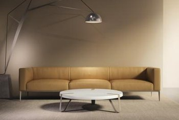 color sofa cane set coimbatore colors that match a caramel home guides sf gate completely muted room is relaxing but add some so it isn t