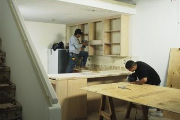 How To Install Kitchen Cabinet Blocks In The Wall Home Guides SF
