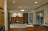 Kitchen to Living Room Transitions and Entries | Home ...