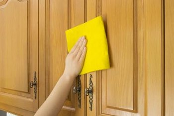 Wipe Dust Away Before Cleaning Cabinets With Oil Soap