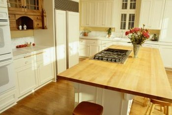 kitchen counter overhang kitchens pictures maximum for a laminate countertop home guides sf gate typical is between 6 and 12 inches