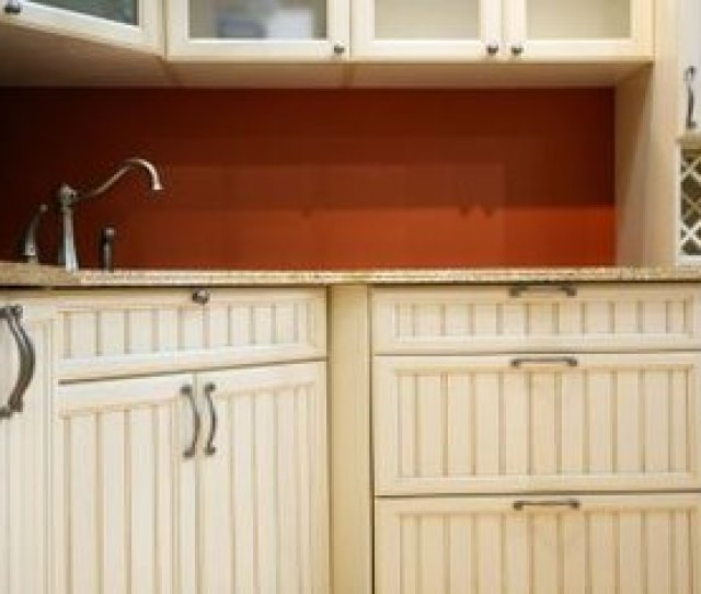 French Country Kitchen Cabinets Are Often White With Raised Or Inset Panels